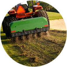 Aeration and Lawn Raking in Calgary